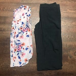 GAP Charcoal Gray Trousers